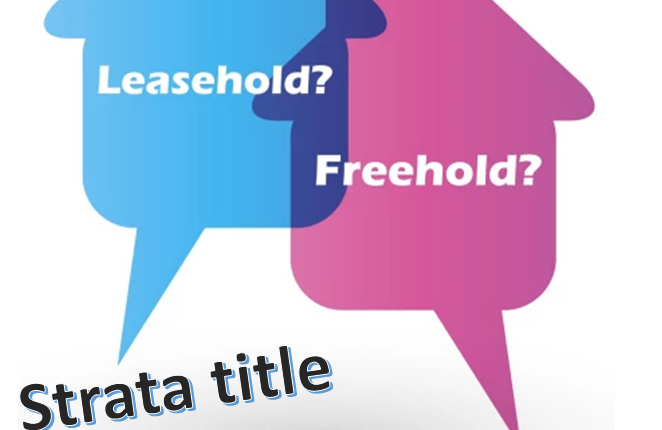 Strata vs Individual vs Freehold vs Leasehold